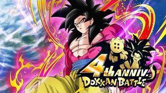 DRAGON BALL Z DOKKAN BATTLE 4th Anniversary Trailer Ver. 3