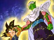 Teletrasporto (Goku e Junior)