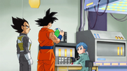 Bulma ha costruito il Super Dragon Radar