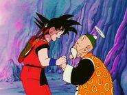 EP152DB Son Goku reencuentra con su abuelito gohan
