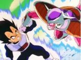 Vegeta vs. Freeza primera forma