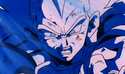 Vegeta attaque Cell