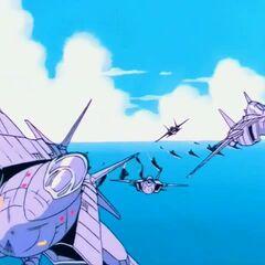 Aerei della flotta aeronavale delle milizie terrestri.