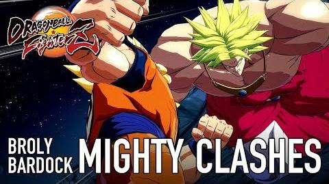 Dragon Ball FighterZ - XB1 PS4 PC - Mighty Clashes (Bardock & Broly release trailer)