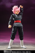 Goku Black Rose Ataque Figuarts