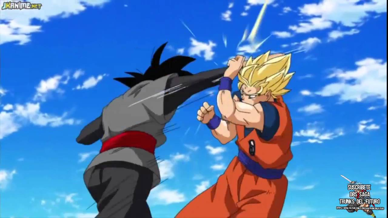 Image - Super Saiyan 2 Goku Vs Black.jpg