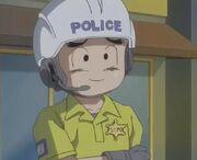 Crilin poliziotto