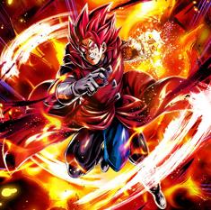 Giboulette como Supersaiyano Dios artwork