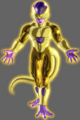 Golden Frieza xenoverse art