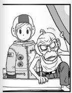 Tights astronauta