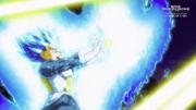 Blue Vegeta Final Flash 1