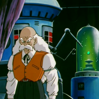 Il Dr. Gelo nel suo laboratorio.