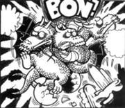 Rey ghidorah-manga