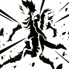 Fusione Potara tra Son Goku e Vegeta.