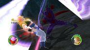 Ataque de la espada dimensional DBRB2