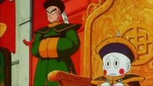 Emperador Chaoz y Tenshinhan Película 3