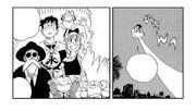 Goku and the Dragon Ball Gang part ways