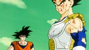 Son Goku parla a Vegeta