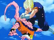 Super vegetto vs super buu gohan