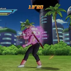 Il Boogie Parapara in Dragon Ball Xenoverse.