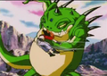 Haze shenron punchs pan in the gut