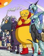 Team Universo 6 manga