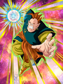 Dokkan Battle Boss South Supreme Kai card (Story Event The Unknown Battle of Gods and Majin - South Supreme Kai SR)