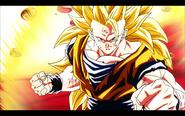 Goku Ssj3 renacer de lafusion