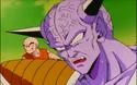 Goku as Ginyu with Krillin