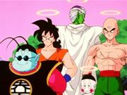 Piccolo,Yamcha,Ten Shin Han y Chaoz a punto de entrenar con Kaio Sama