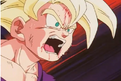 Teen gohan beating up by turles.2