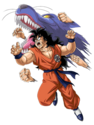 Yamcha - Wolf Fang Fist at Dragon Ball Z Dokkan Battle