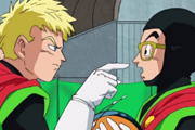 Dragon Ball Super Great Saiyaman Suit Barry Khan & Gohan (Future Trunks Saga)