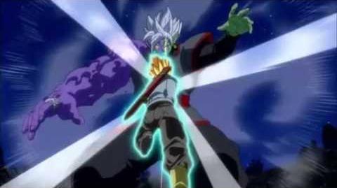 Gatai Zamazu VS Mirai Trunks, le dernier combat !