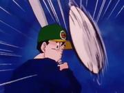 Gohan gioca a Baseball