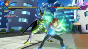 DBXV2 Future Warrior (Female Earthling) & Cell (Perfect) Perfect Shot - Charging (Super Skill)
