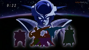 DXRD Caption of Sorbet recalls Frieza's PTO glory days (Ginyu Force, Zarbon & Dodoria)