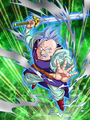 Dokkan Battle Boss North Supreme Kai card (Story Event The Unknown Battle of Gods and Majin - North Supreme Kai SR)