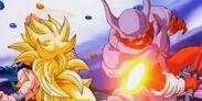 Goku SS3 vs Super Janemba