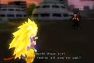 Goku SSJ3 GT vs Baby BT3