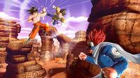 Goku vs Vegeta spiati