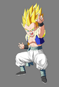Gotenks SSJ1 by dbkaifan2009