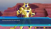 """SDBH World Mission Ch 2, Sub Ch 3 - """"An Unthinkable Appearance"""" (Extra Dimensional Space) Note's reaction to Cooler's transformation into Golden Cooler (""""The Power of Brotherhood"""")"""