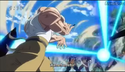 DXRD Caption of Master Roshi shoots a Kamehameha ball at Frieza soldiers in Dragon Ball Super episode 21