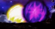 Choque entre Explosión Final y Energía de la Destrucción