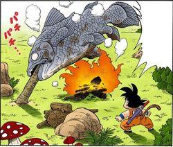 Morte pesce pranzo di yajirobei