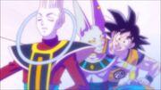 Whis, Goku e Beerus verso l'Universo 10