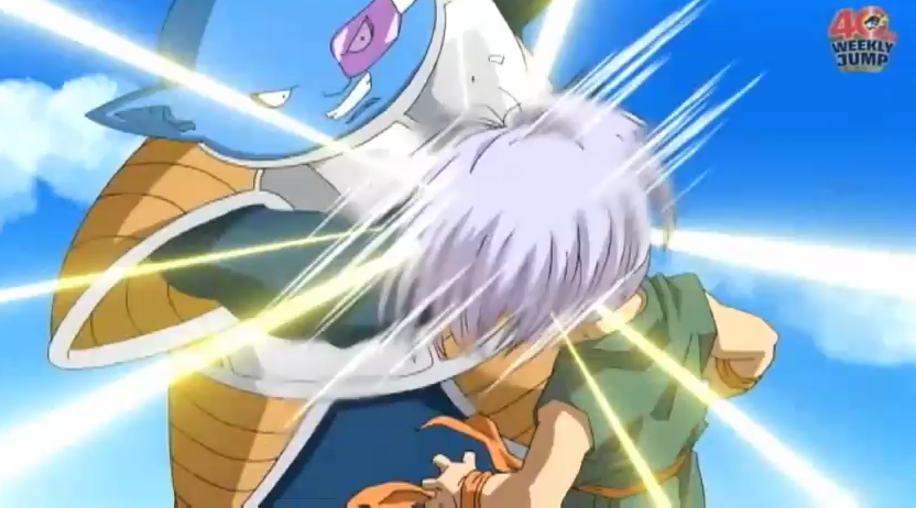 Image Ado Punched Trunks In The Face Png Dragon Ball Wiki