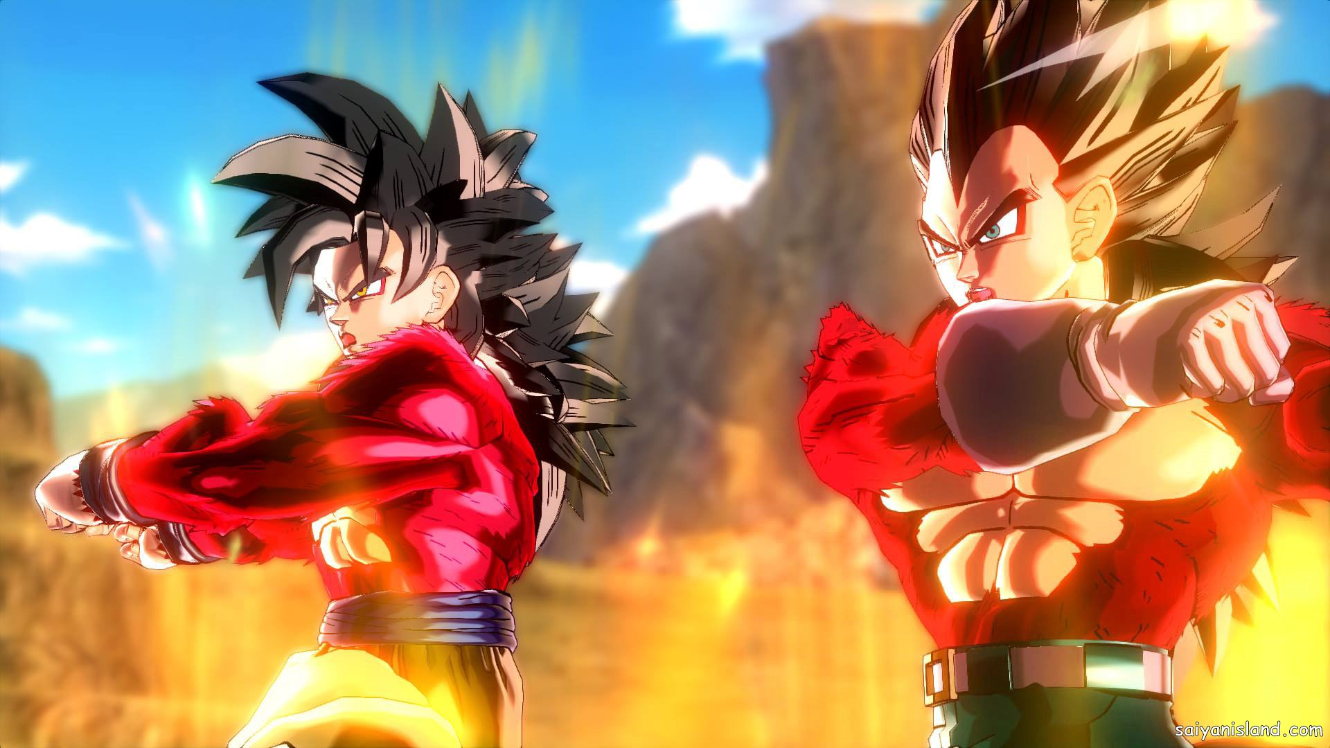 DBXV SSJ4 Goku Vegeta Fusion Dance GT Pack 2 DLC 23