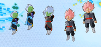 Fusion Zamasu and his clones